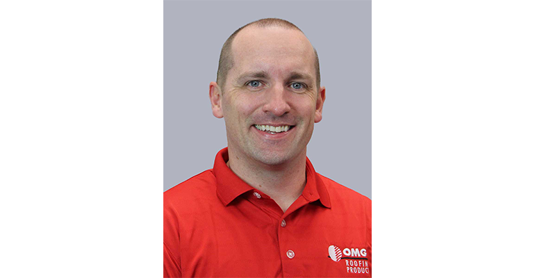 OMG Roofing Products hired Eric Frazier as its adhesives market manager