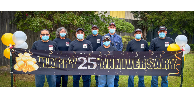 TAMKO highlights Ennis facility and recognizes team members for safety achievements and employee dedication