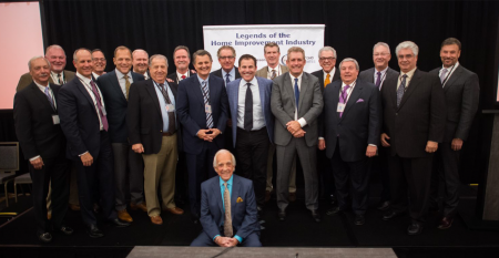 """Dave Yoho Associates presents the """"Legends of the Home Improvement Industry"""" award"""